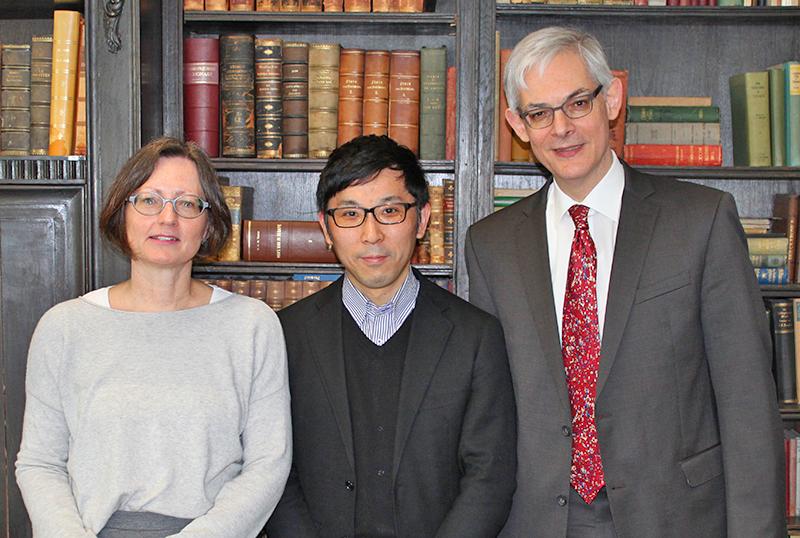 Christine Liew, Prof. Yoshida, Prof. Dr. Rövekamp