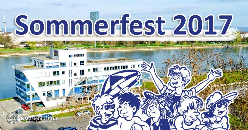 Sommerfest am Ostasieninstitut