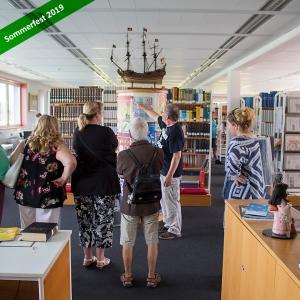 Bibliothek Führung