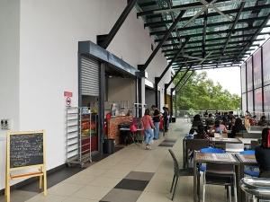 Die Cafeteria der Studenten