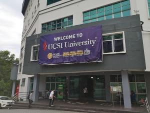Eingang der UCSI University