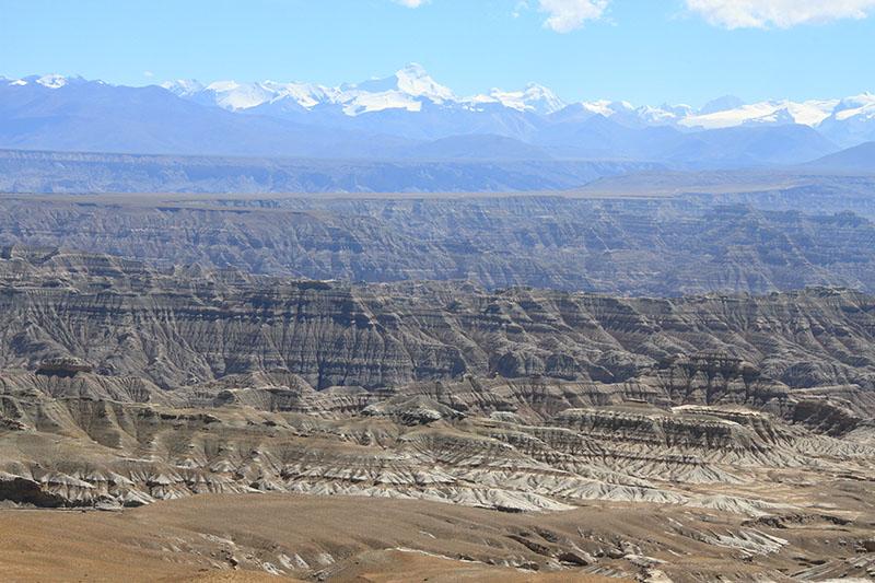 Felsformationen im chinesischen Tibet
