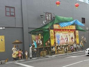 Streetart in Singapur
