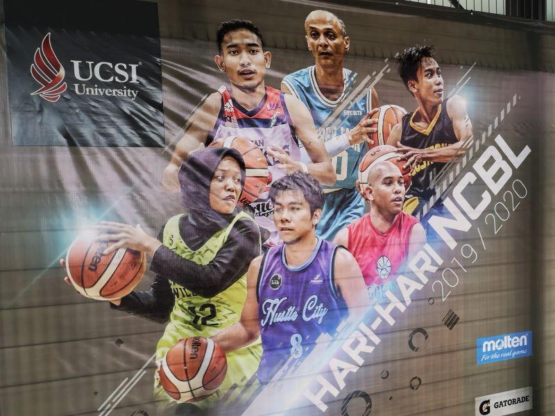 UCSI Freiluft-Basketballfeld