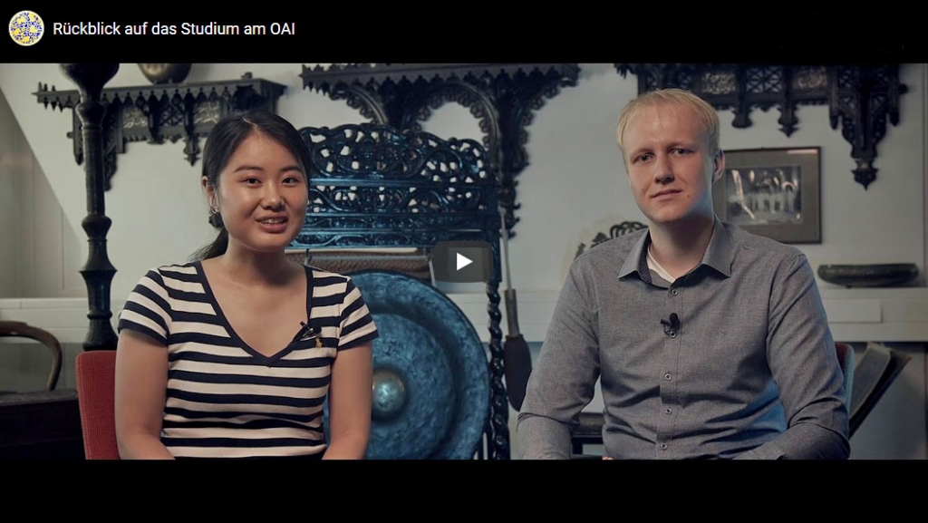 Yiyu Zhang und Lukas Arndt