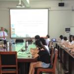 Vortrag von Professor Gissel