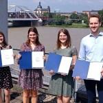 Verleihung Alumni-Stipenidum 2021