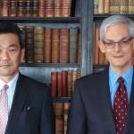 Shinichi Asazuma und Professor Frank Rövekamp